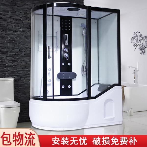 整体淋浴房一体式浴室隔断卫生间洗澡房玻璃门集成卫浴泡澡沐浴房