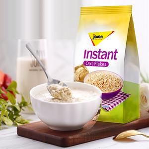 荷兰进口捷森麦片高纤高蛋白免煮即食代餐早餐麦片500g