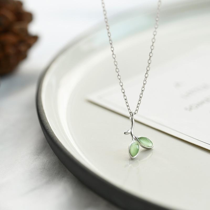 Корея 925 серебро ожерелье женщина просто мода ключицы цепи сладкий личность дикий шея цепь корейский аксессуары 563529324360