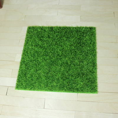 taobao agent Lawn BJD doll OB11 use scene Ground floor Baby house Micro landscape simulation grass moss turf