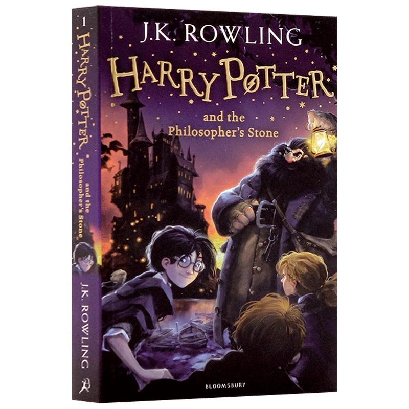英文正版进口 哈利波特与魔法石