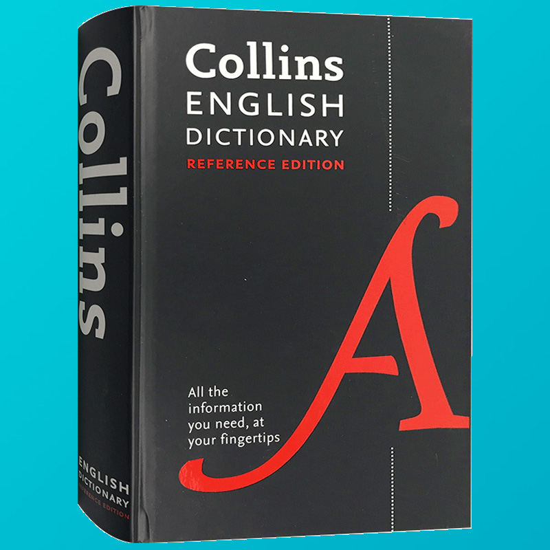 Collins English Dictionary Reference edition Collins English Dictionary  Hardcover Book Edition English Original English-English Dictionary English