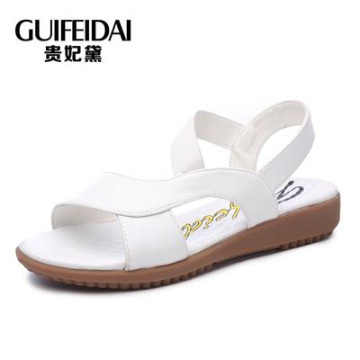 新款百搭舒适软底防滑凉鞋