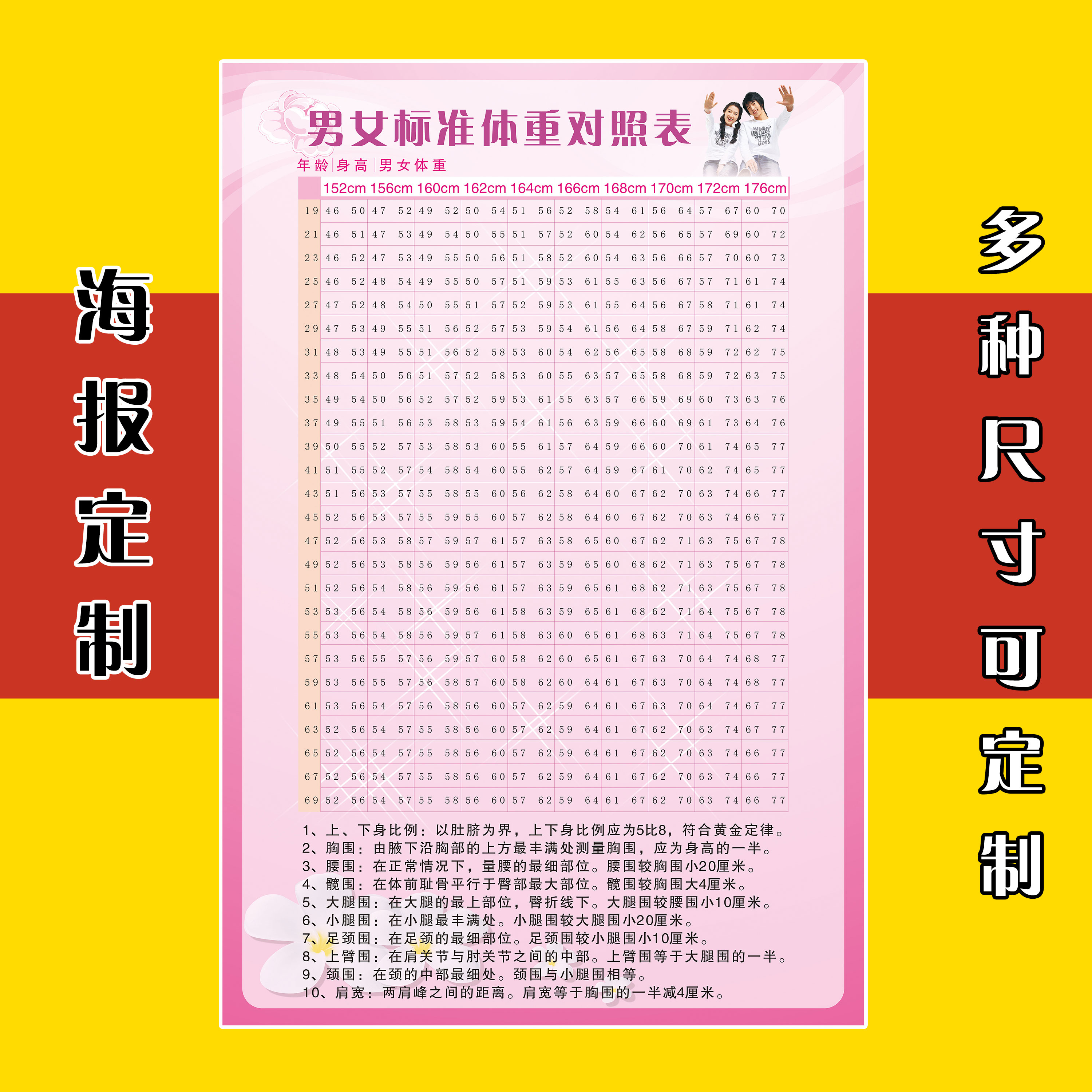 Usd 781 asian adult men and women standard height weight table asian adult men and women standard height weight table weight loss beauty salon club slim wall chart wall stickers 0008 nvjuhfo Gallery