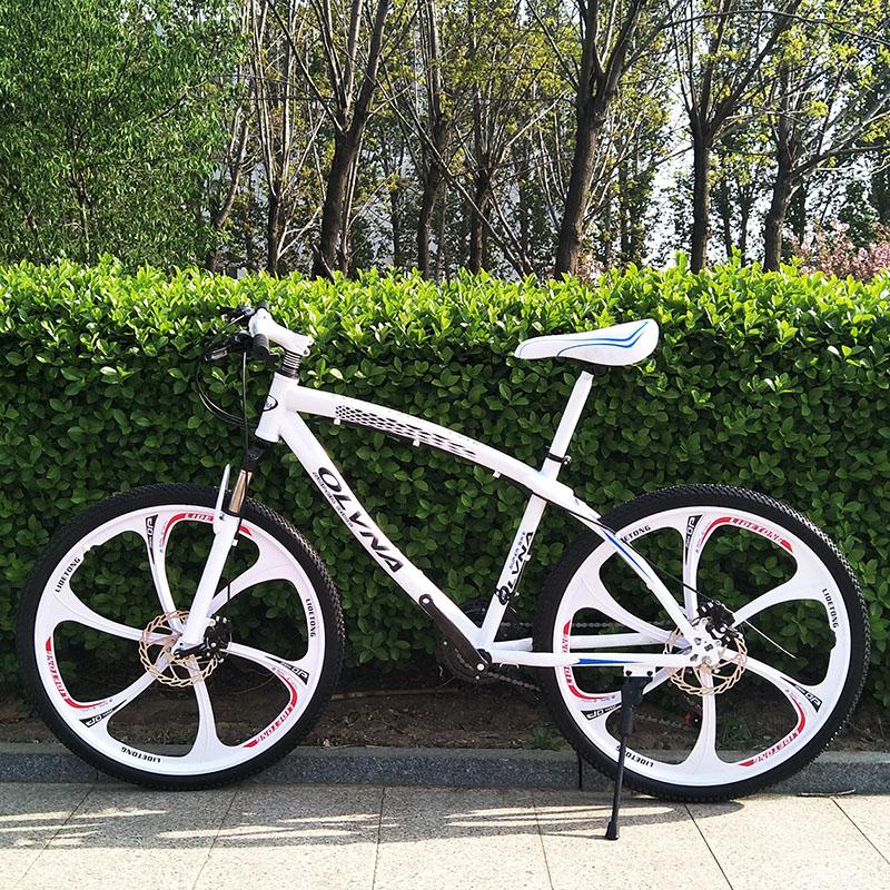 宝马架型山地车21速自行车城市式单车男女骑行公路成人越野赛变速