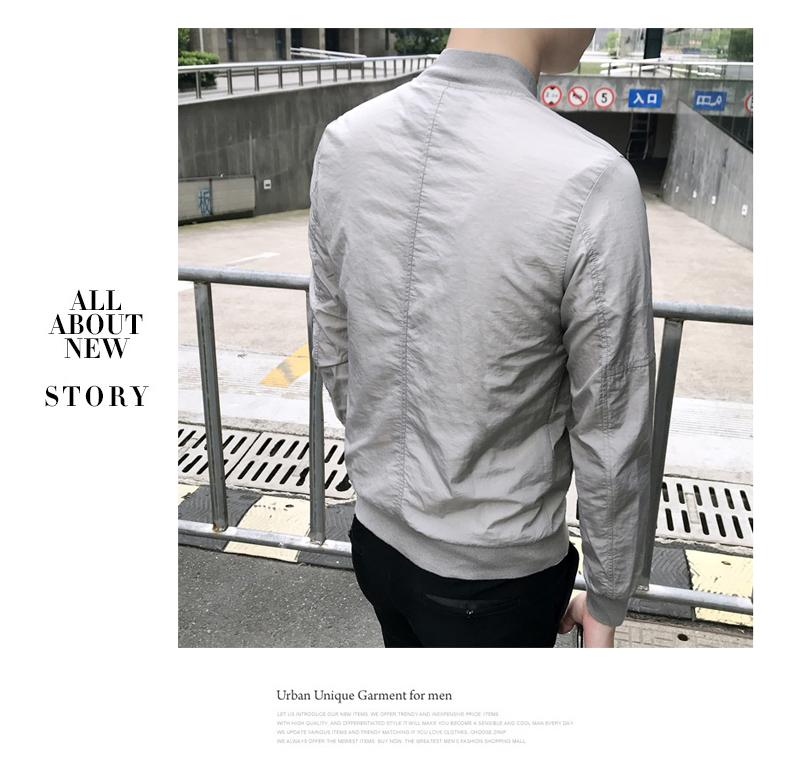 Xiboer nam quần áo chống nắng Hàn Quốc phiên bản của xu hướng tự trồng đẹp trai đồng phục bóng chày mỏng mùa hè thường chống mite áo khoác