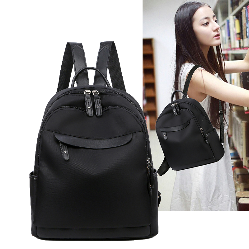 Shoulder bag female 2019 new Korean version of the tide oxford cloth small backpack ladies nylon wild fashion canvas bag bag