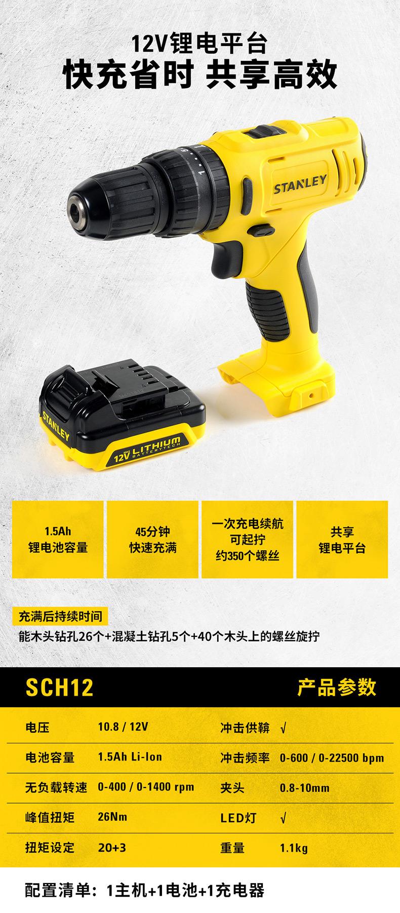 世界知名工具品牌 史丹利 手工具套装家用维修 图6