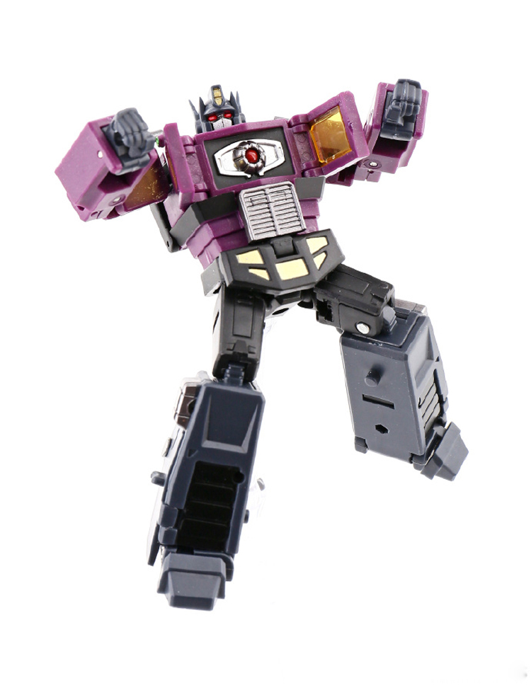 Transformers DX9 X34P pocket purple optimus prime with compartment toy