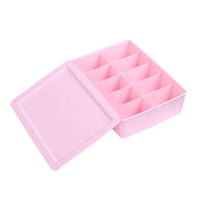 Розовый Хранение 10 коробок【1 статья имеет корпус 】