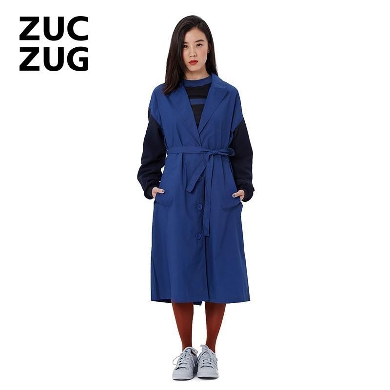 ZUCZUG-素然Z系列 高支棉布風衣 Z153TC01