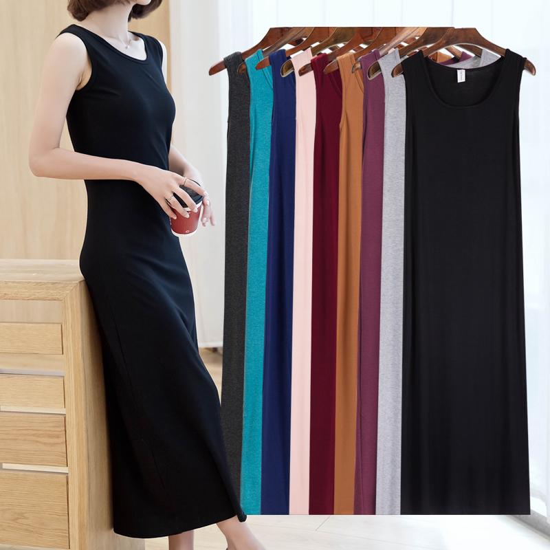 Черный Жилет длинная юбка осеннее платье женская 2018 новая коллекция платье фасон средней длины без Нижнее дно пакет Бедровая юбка подкладки