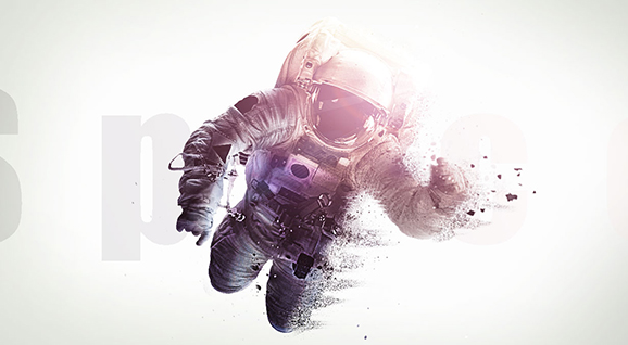 [Ps调色]-海报效果的宇航员