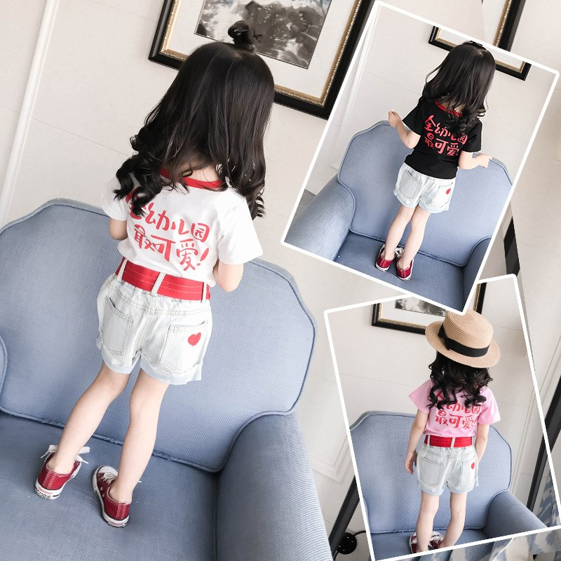 1 children's wear girls summer dress boys short sleeves 2 to 3 years old half T-shirt 4 years old 5 fashion 6 children clothes tide baby 0