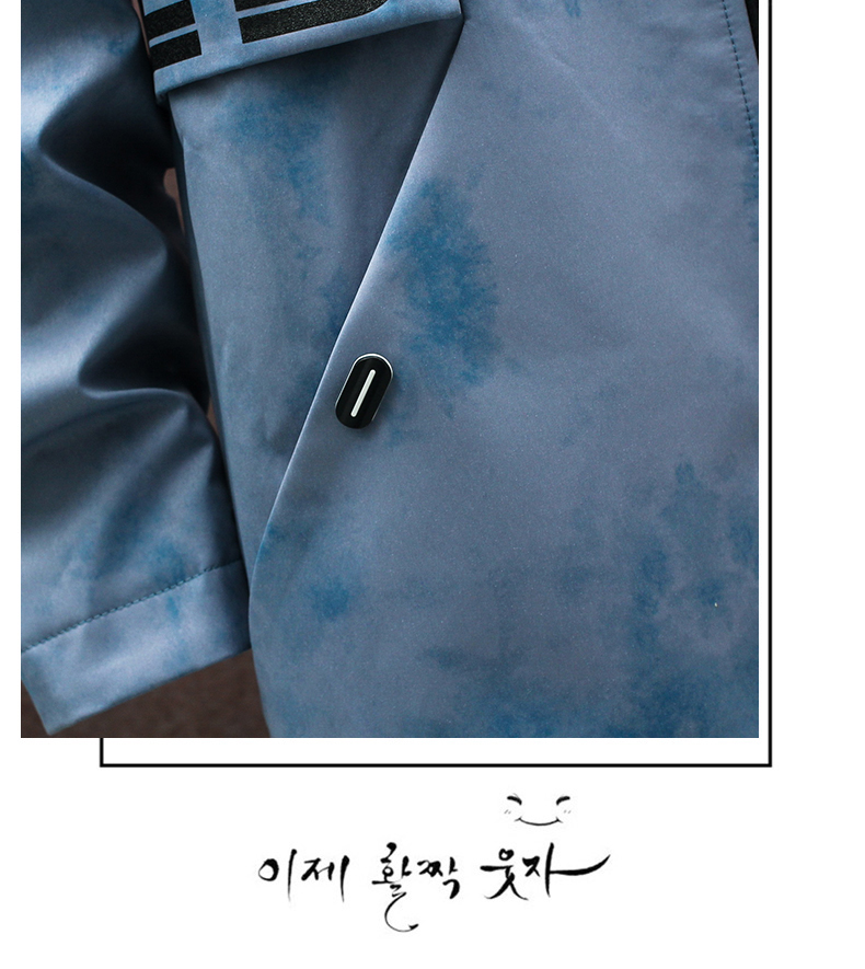 Medium-length windcoat jacket men's 2020 new teen Korean version trend plus velvet plus thick autumn and winter jacket top 58 Online shopping Bangladesh