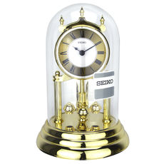 98b7f0860bd Seiko SEIKO European elegant palace glass shell table clock HN006 series