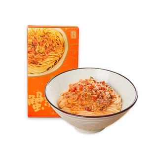 【顺丰包邮】不等蟹黄面蟹粉面方便速食拉面蟹黄酱拌面 蟹香浓郁