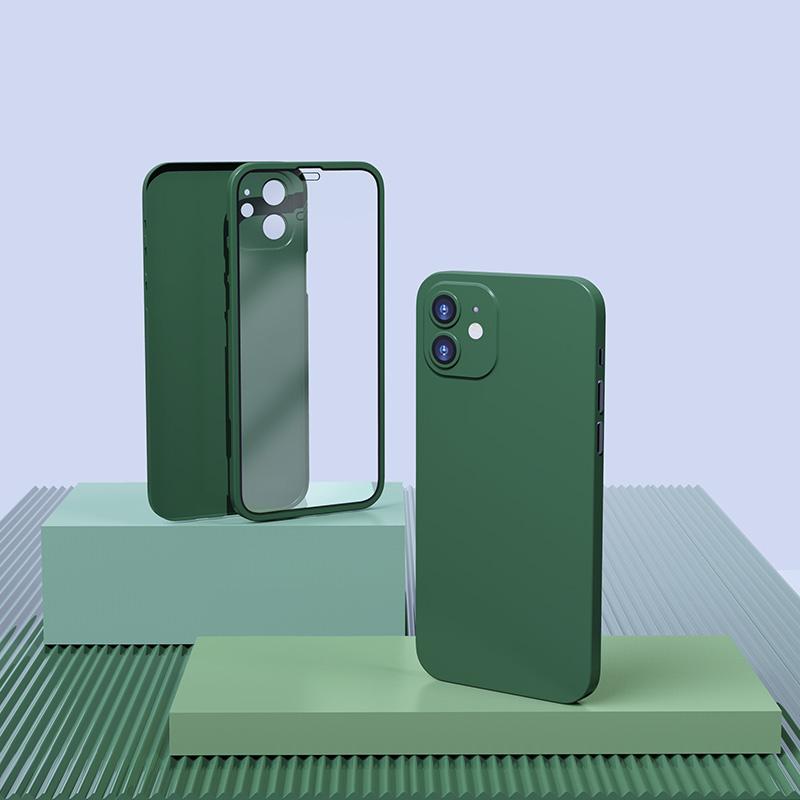 小雷先生苹果12手机壳iPhone12mini双面保护壳12pro保护套MAX5G