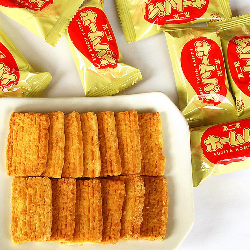 白菜价零食:不二家饼干 日本进口儿童千层饼88g