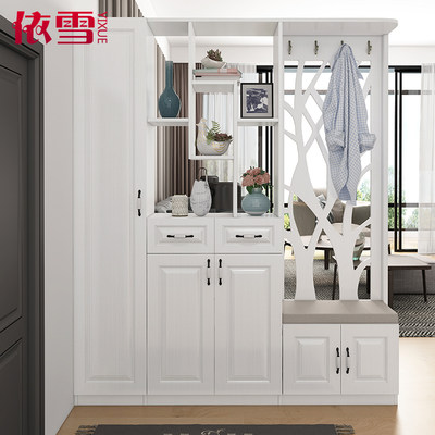 Entrance hollow entrance cabinet guest restaurant carved partition cabinet room hall cabinet screen cabinet simple modern shoe cabinet entrance hall cabinet