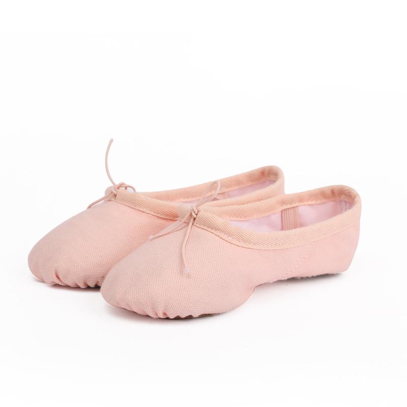 舞蹈鞋儿童女练功软底中国舞鞋成人猫爪鞋形体男女童体操芭蕾舞鞋