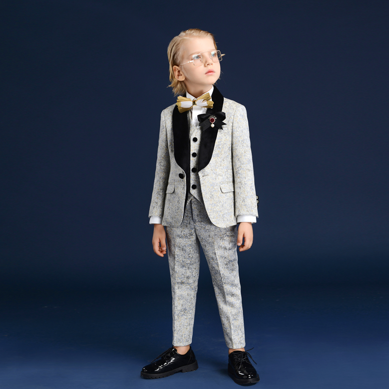 inmyopinion 2019 new children's dress boy catwalk suit school hosts show studio shooting