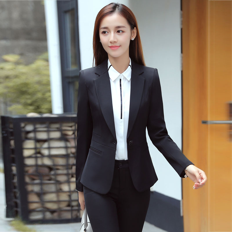 ab7ce02c19 Autumn and winter professional wear suit female 2019 new fashion ...