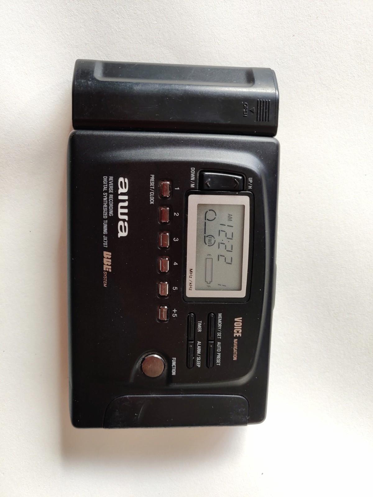 爱华高端磁带机JX707 磁带和收音机都好用,