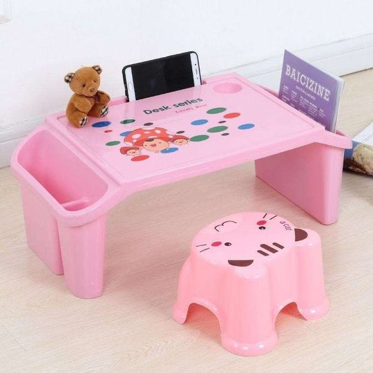 Table children's learning home desk baby children multifunctional infant plastic table and chair set of toy table