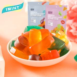 IMINT果汁软糖爆浆流心橡皮糖