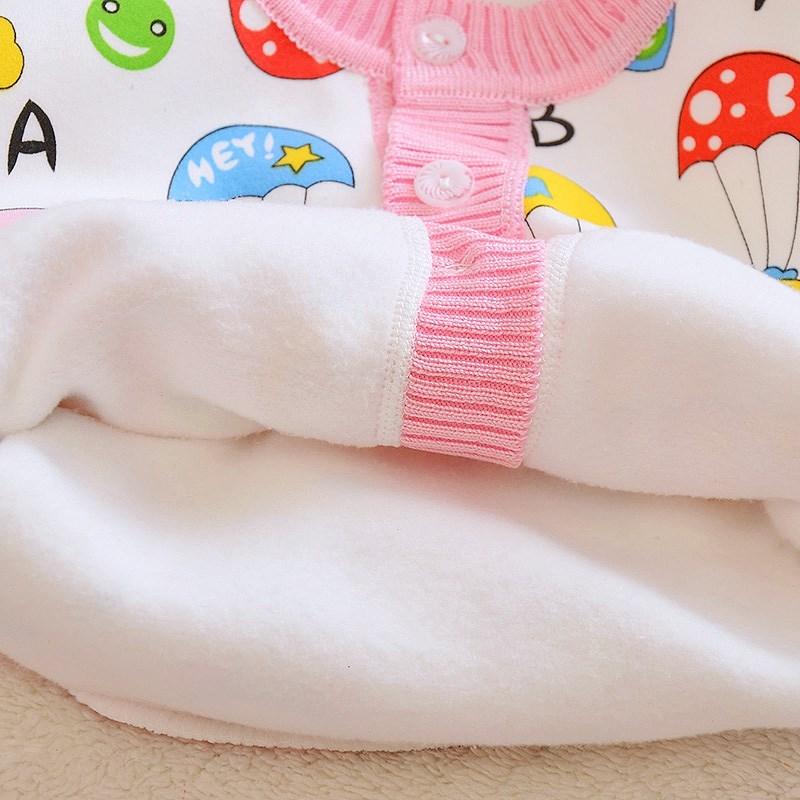 衣新生儿棉春秋套长袖2岁310男童女宝宝婴儿衫