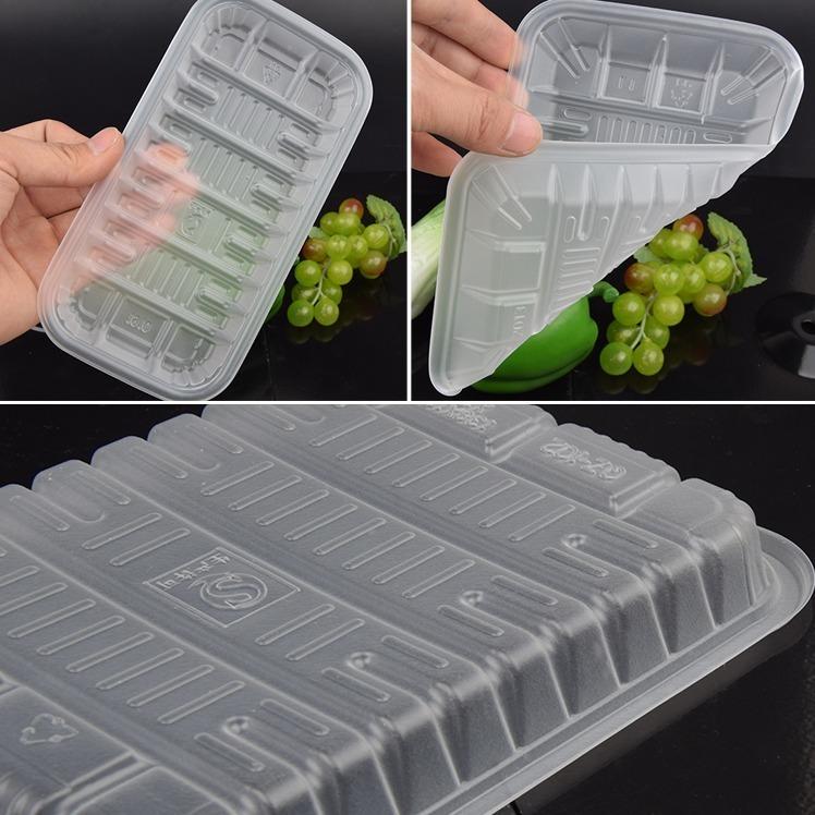 一次性生鲜托盘猪肉包装盒pp半透明打包盒2013水果盒1912蔬菜盒子