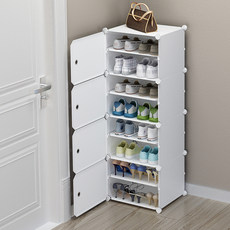 Shoestring simple entrance, narrow space, dormitory, dust-proof, multi-layer, household, economical, small shoe cabinet
