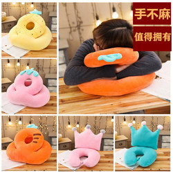 Office nap pillow pillow children's lying pillow primary school students lunch break pillow sleeping artifact lying on the table