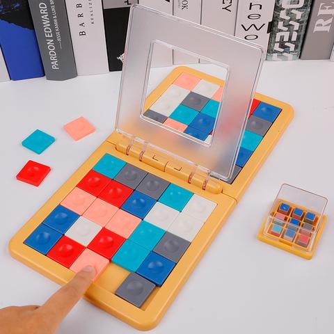 专注力训练双人对战魔方拼图抖音亲子桌面互动游戏儿童益智玩具