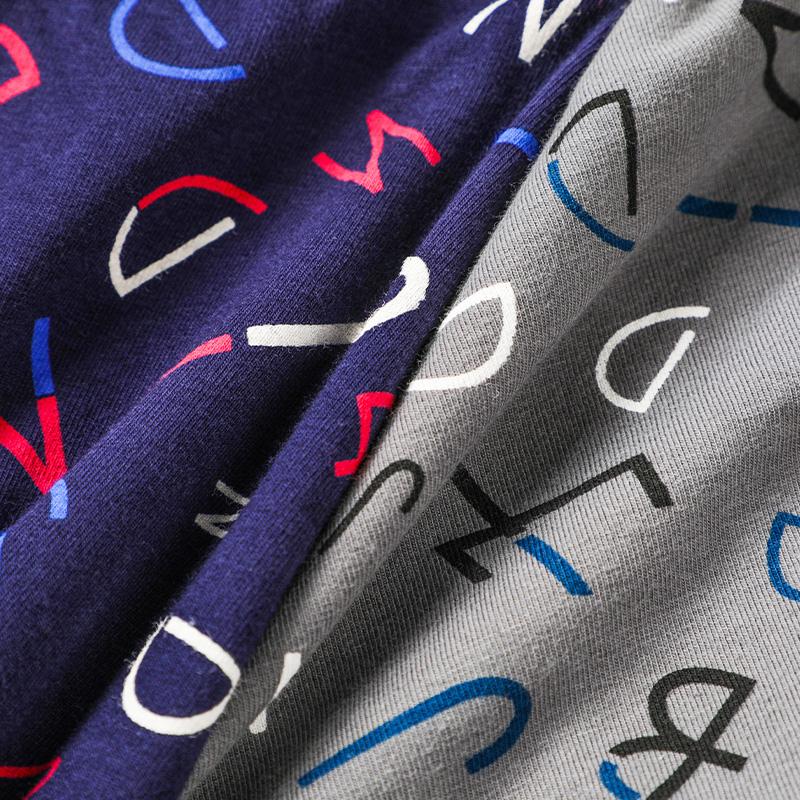 南极人男士内裤平角裤头纯棉抗菌裆夏季薄款透气可爱骚气四角裤衩