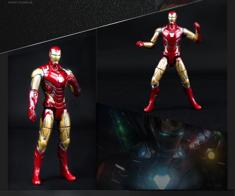 旗舰店正版漫威復仇者联盟玩具全套装钢铁蜘蛛人可动手办模型详细照片