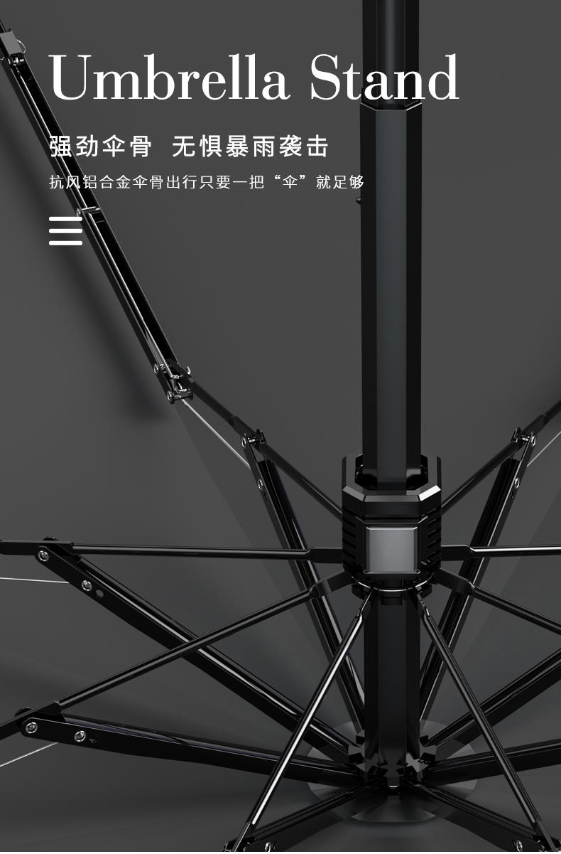 口袋小巧黑胶防紫外线五折叠太阳伞