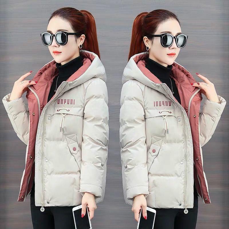 P09棉袄女短款2019新款百搭韩版棉服冬季外套女装宽松加厚棉衣
