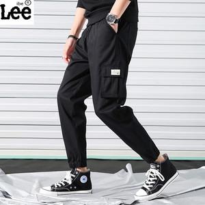 男士工装裤休闲裤运动裤弹力西裤小脚裤男裤