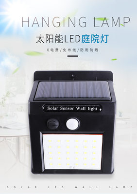 New rural boom lamp wall outdoor garden light LED light source super bright infrared light control waterproof channel light