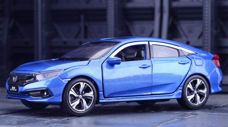 Xe mô hình tĩnh Honda Civic tỉ lệ 1:32 - ảnh 11