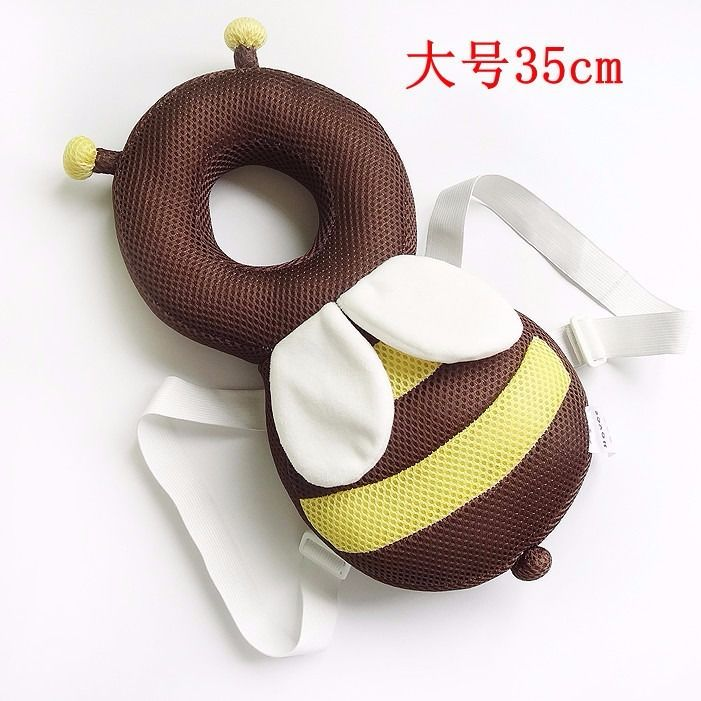 ORDINARY LARGE GRID BROWN BEE 35CM + HORIZONTAL BELT   WHITE STRAP WITH WHITE CROSS STRAP