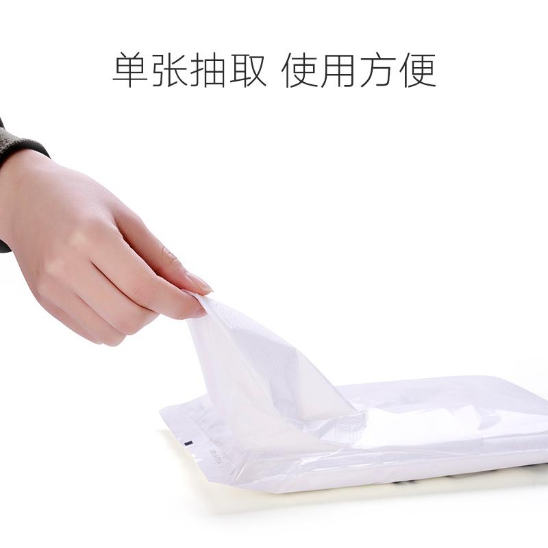 Khăn trải bàn dùng một lần dày nhựa khăn trải bàn đệm vải khăn trải bàn dã ngoại nhà bên tròn bàn tròn trong suốt phim - Các món ăn dùng một lần