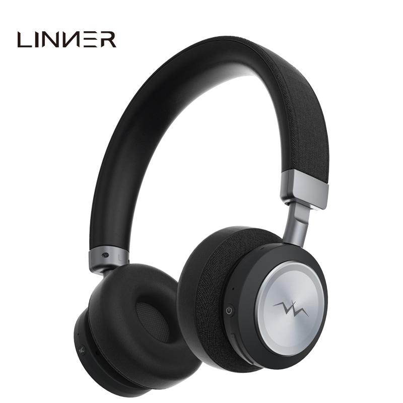 聆耳头戴式蓝牙无线智能主动降噪耳机