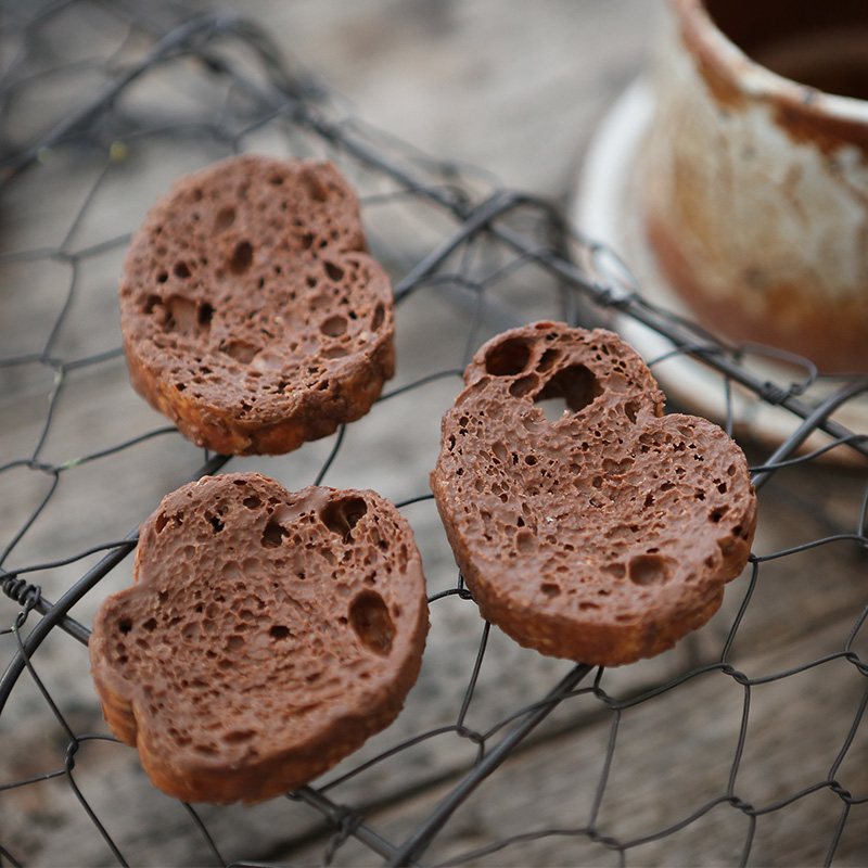 巧佰滋网红牛奶脆巧心脆纯可可脂渗透巧克力法式面包干