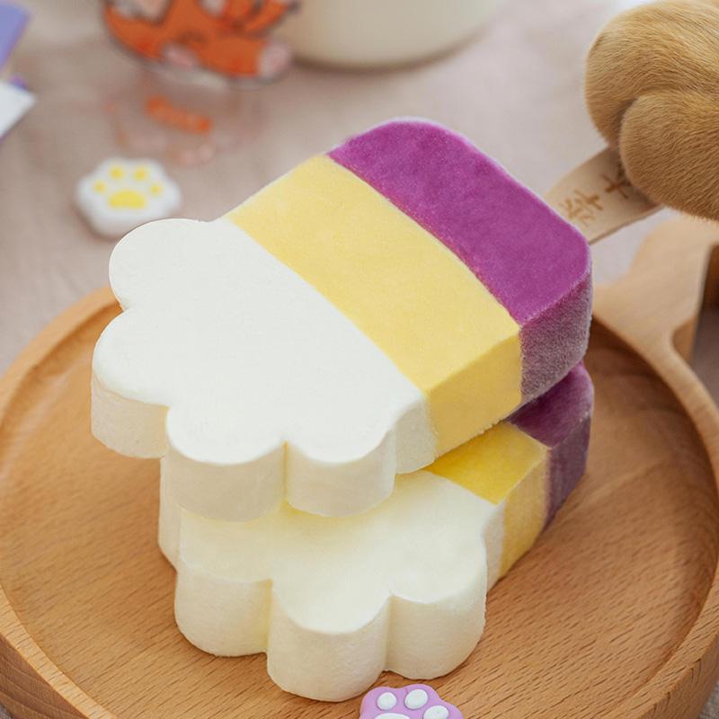 钟薛高旗下 李大橘 牛乳芝士/百香果菠萝牛乳雪糕 70gx16片