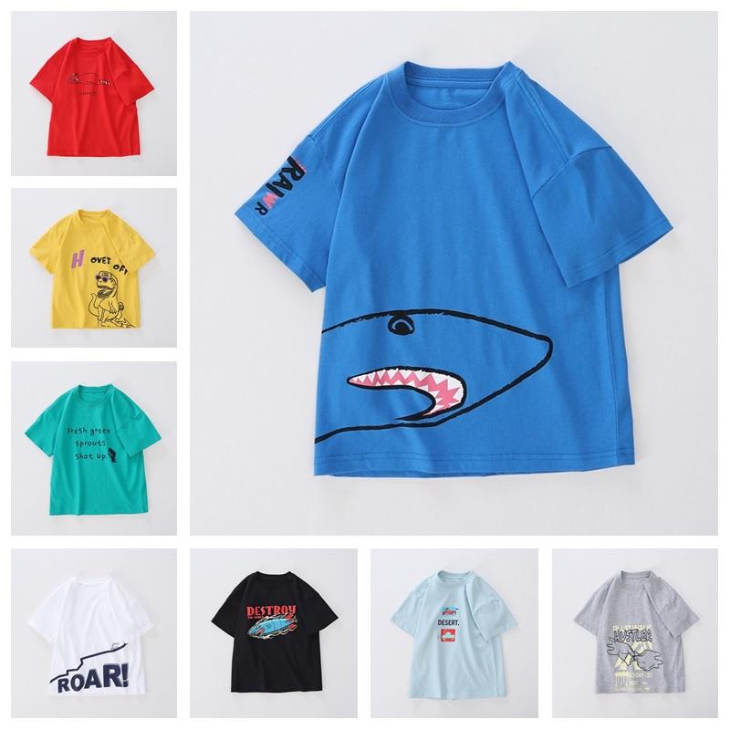 男童小学生夏季清仓短袖T恤 券后价14.8元包邮