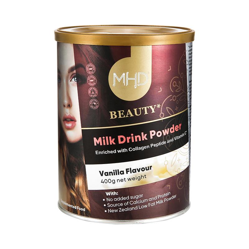 新西兰MHD小分子鱼胶原蛋白肽水解粉含VC营养奶粉非液态饮口服液