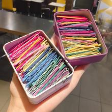 儿童糖果色彩色发夹发卡一字夹